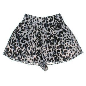 H&M Black and White High Waisted Shorts